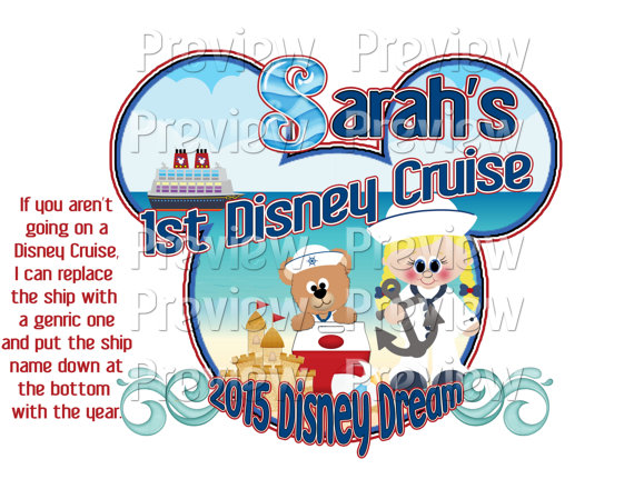 570x440 Printable Girl Diy Cruise Mouse Head Shirt Or Cruise Door
