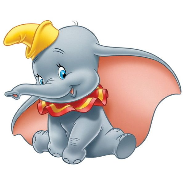 600x600 Dumbo (Character) Liked On Polyvore Featuring Home, Home Decor