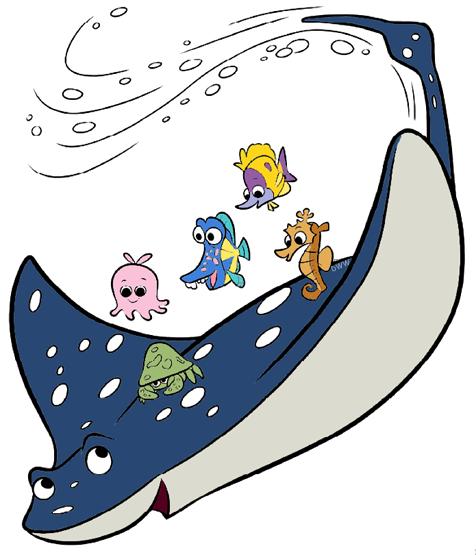476x555 Destiny Clipart Finding Nemo