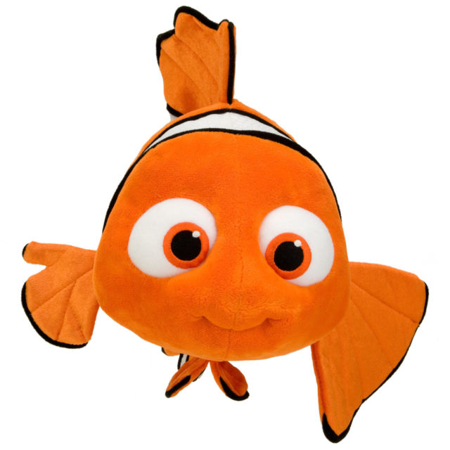 640x640 Disney Finding Nemo Plush Toy 9 Clown Fish Authentic With Tags Ebay