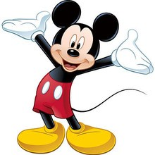 220x220 Mickey Mouse Coloring Pages