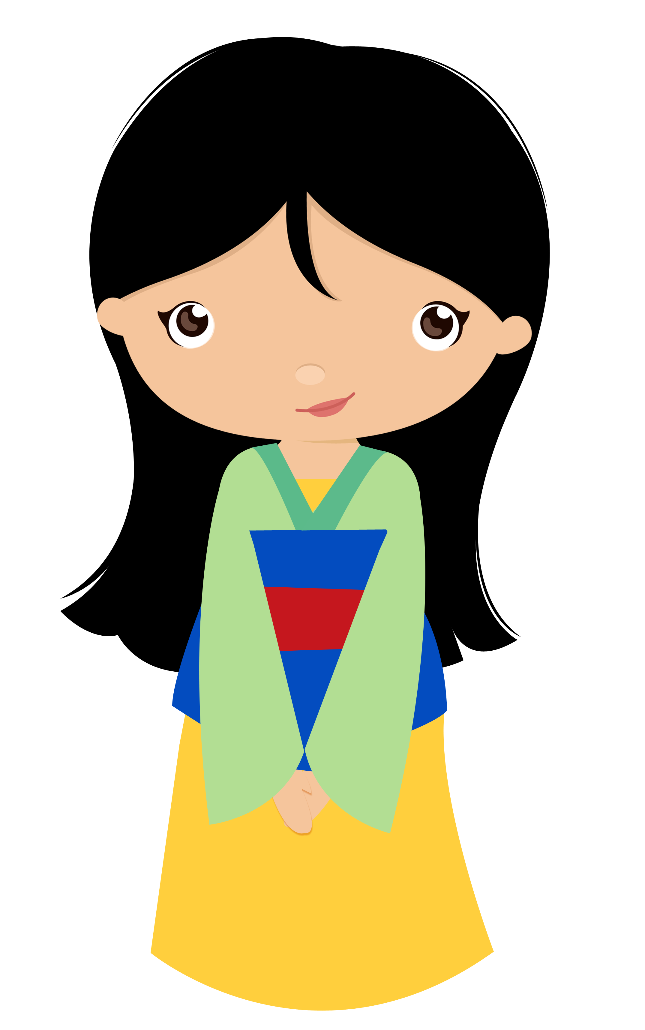 2150x3432 Mulan E Pocahontas