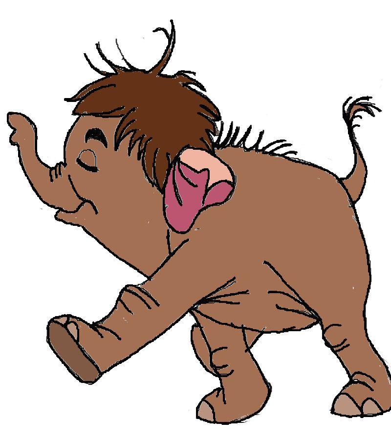 800x900 Junior Disney's The Jungle Book Baby Elephants