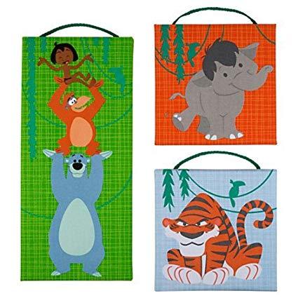 425x425 Disney The Jungle Book Canvas Wall Hanging Set