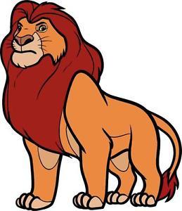 259x300 Mufasa Lion King Decal Removable Wall Sticker Home Decor Art Kids