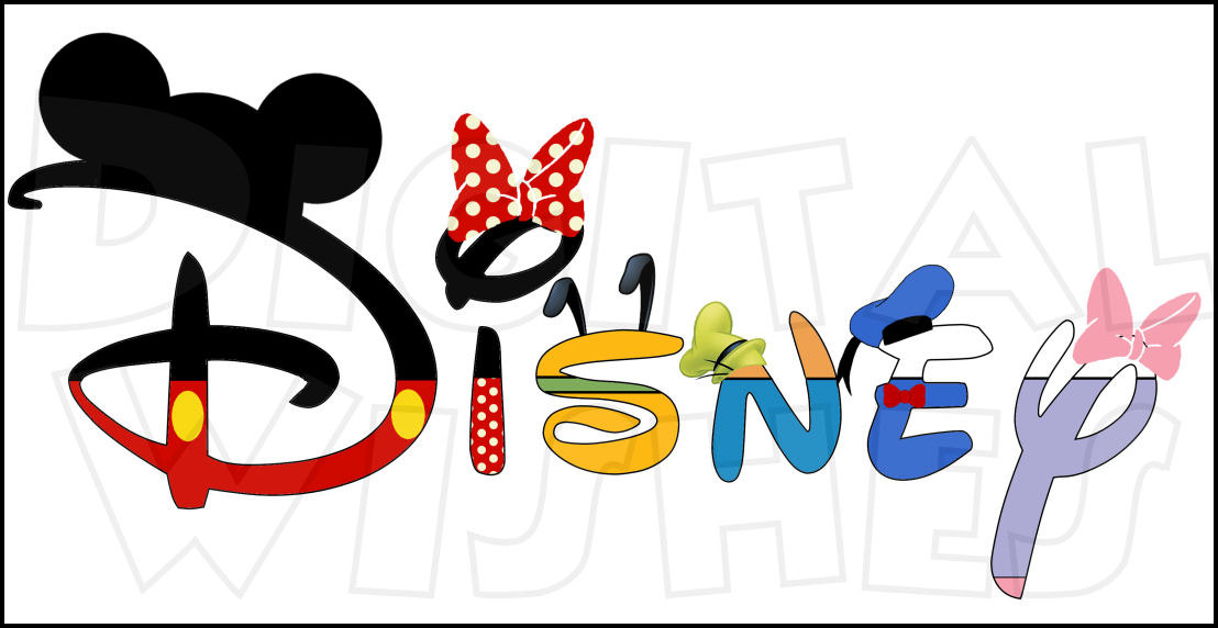 1108x572 Disney In A Word With Fab 5 Five Digital Iron On Transfer