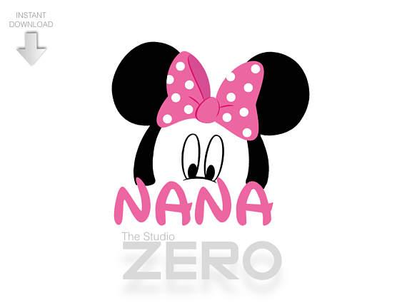 570x428 Mickey Head Nana Clipart, Nana Shirt, Disney Nana Clipart, Disney