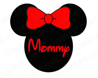 340x270 Minnie Mouse Great Grandma Image Use As Printable Iron On Transfer