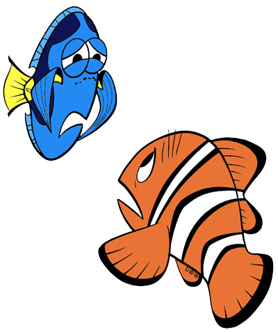 400x477 Finding Nemo Crush Clipart Collection