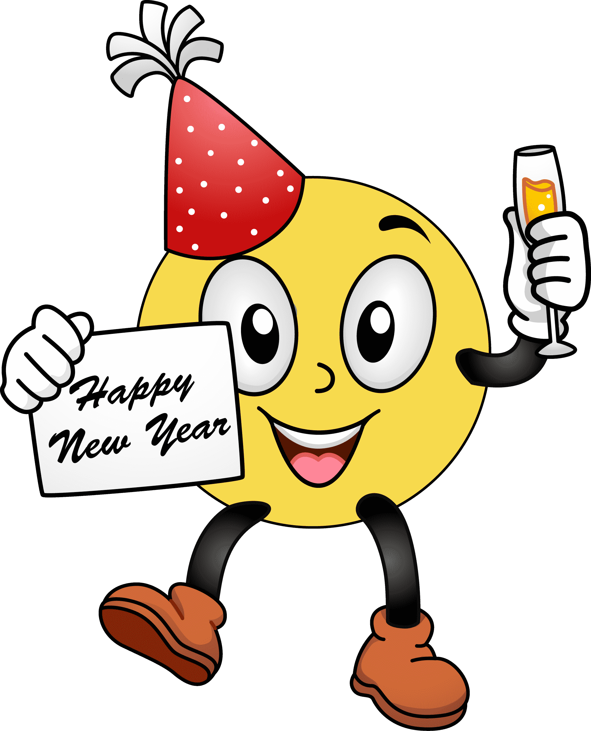 1962x2426 Happy New Year Disney Clipart Happy Greeting Images