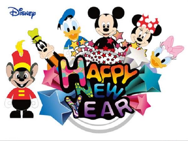 600x450 Disney New Year Clip Art Merry Christmas Amp Happy New Year 2018