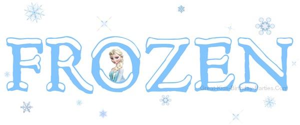 600x251 Frozen Clipart Frozen Logo