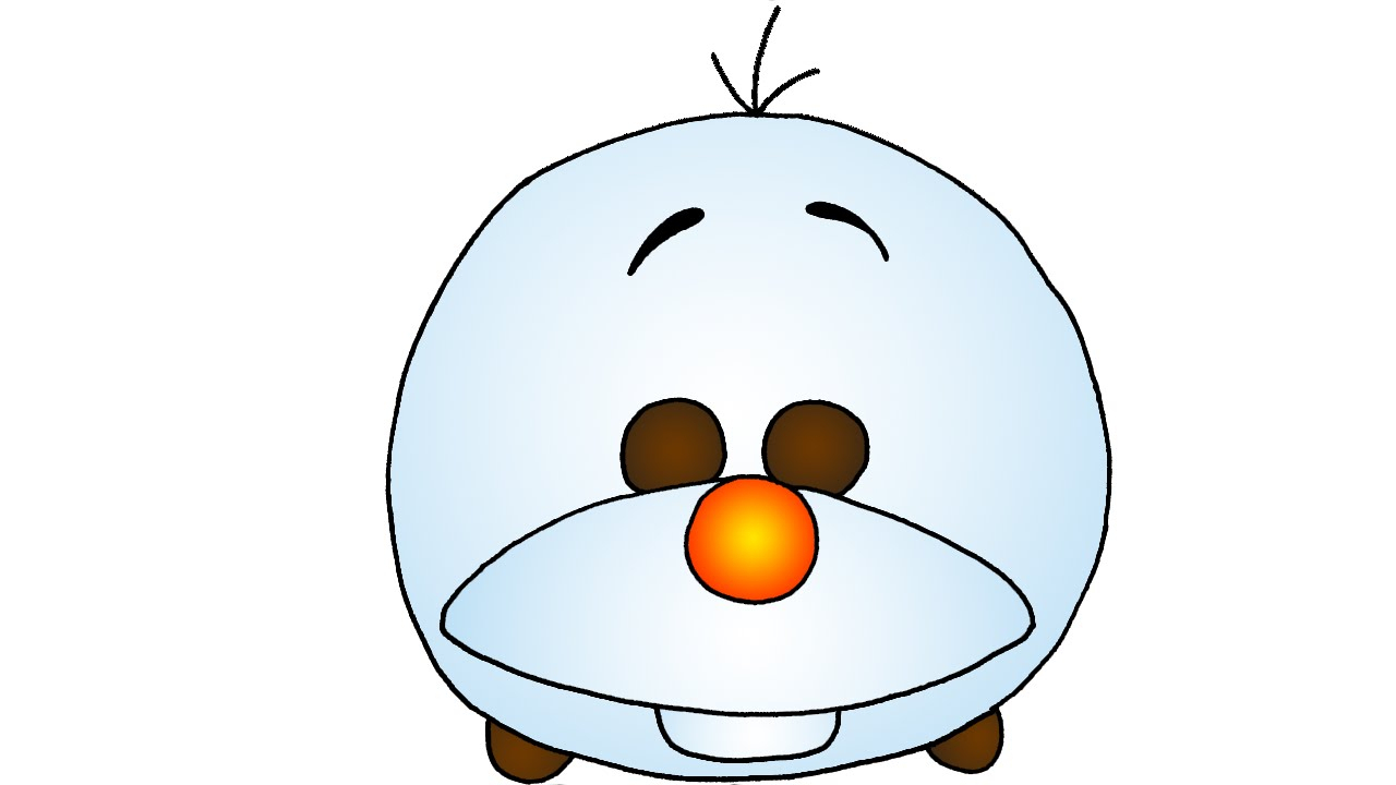 1280x720 Olaf From Frozen Drawing How To Draw Cute Olaf From Frozen Disney