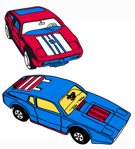 453x500 Blue Car Clipart Matchbox Car