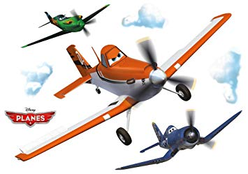 355x249 Komar 14700h Disney Planes Dusty Freestyle Deco Sticker
