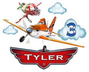 300x242 Planes Disney Pixar Dusty Crophopper,skipper Personalized Birthday