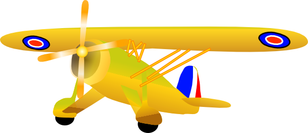 600x260 Collection Of Yellow Plane Clipart High Quality, Free