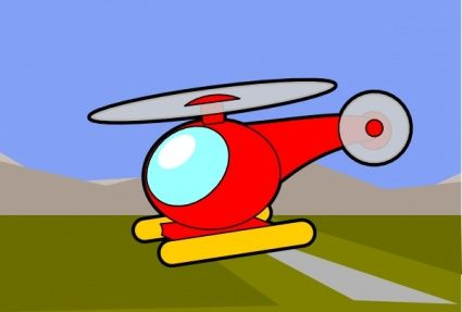 425x287 Fancy Cartoon Airplane Funny
