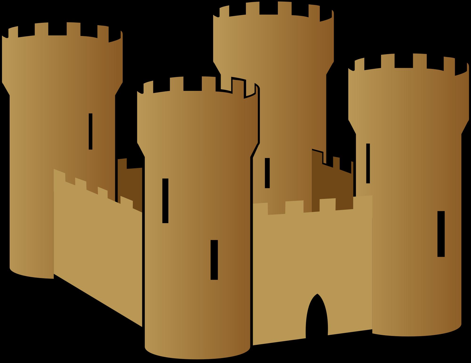 2000x1542 Castle Clip Art