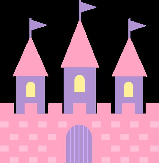 535x550 Cute Pink Princess Castle