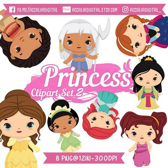 570x570 Disney Princess Clipart, Cute Princess Clip Art, Disney Party