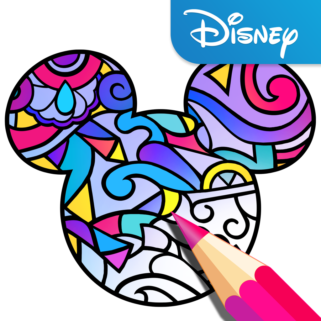 1024x1024 Disney Launches Its Own Adult Coloring Book App Techcrunch