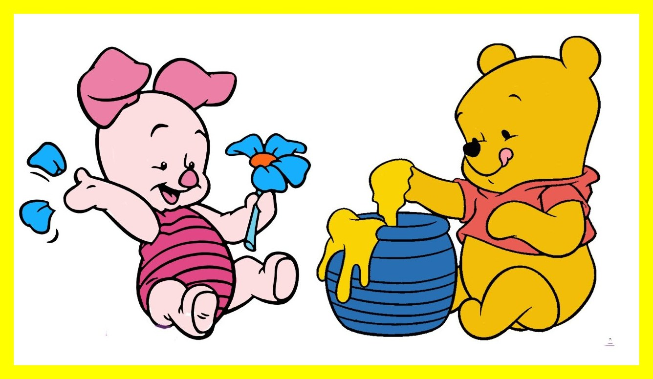 1336x776 Inspiring Disney Coloring Book Winnie The Pooh Baby Pages