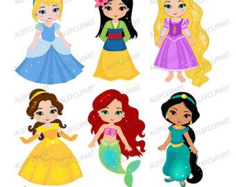 340x270 Rapunzel Clip Art Etsy