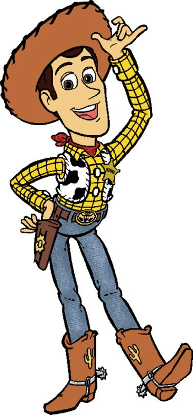377x810 Toy Story Woody Clipart