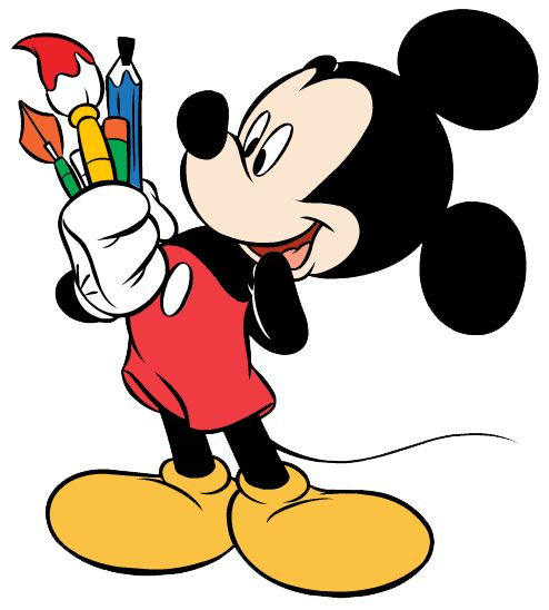 494x548 Best Mickey Mouse Thanksgiving Clipart