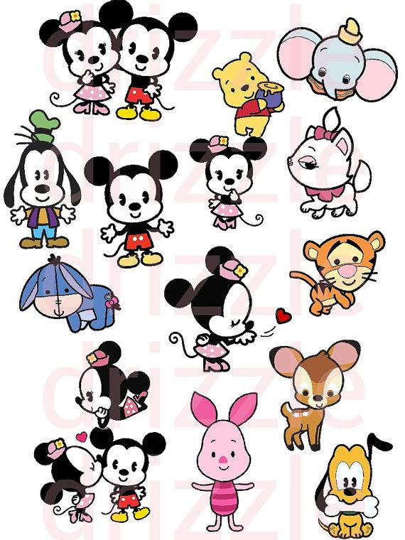 570x760 Amazing Disney Clip Art Cuties Stickers Clipart Kids Kawaii