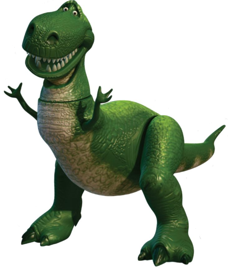 732x860 Collection Of Rex Toy Story Clipart High Quality, Free