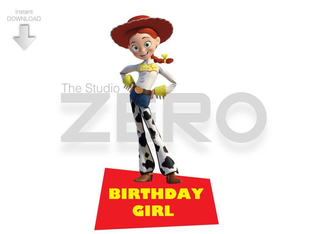 1024x768 Disney Toy Story Clipart, Birthday Girl, Toy Story Jessie Shirt