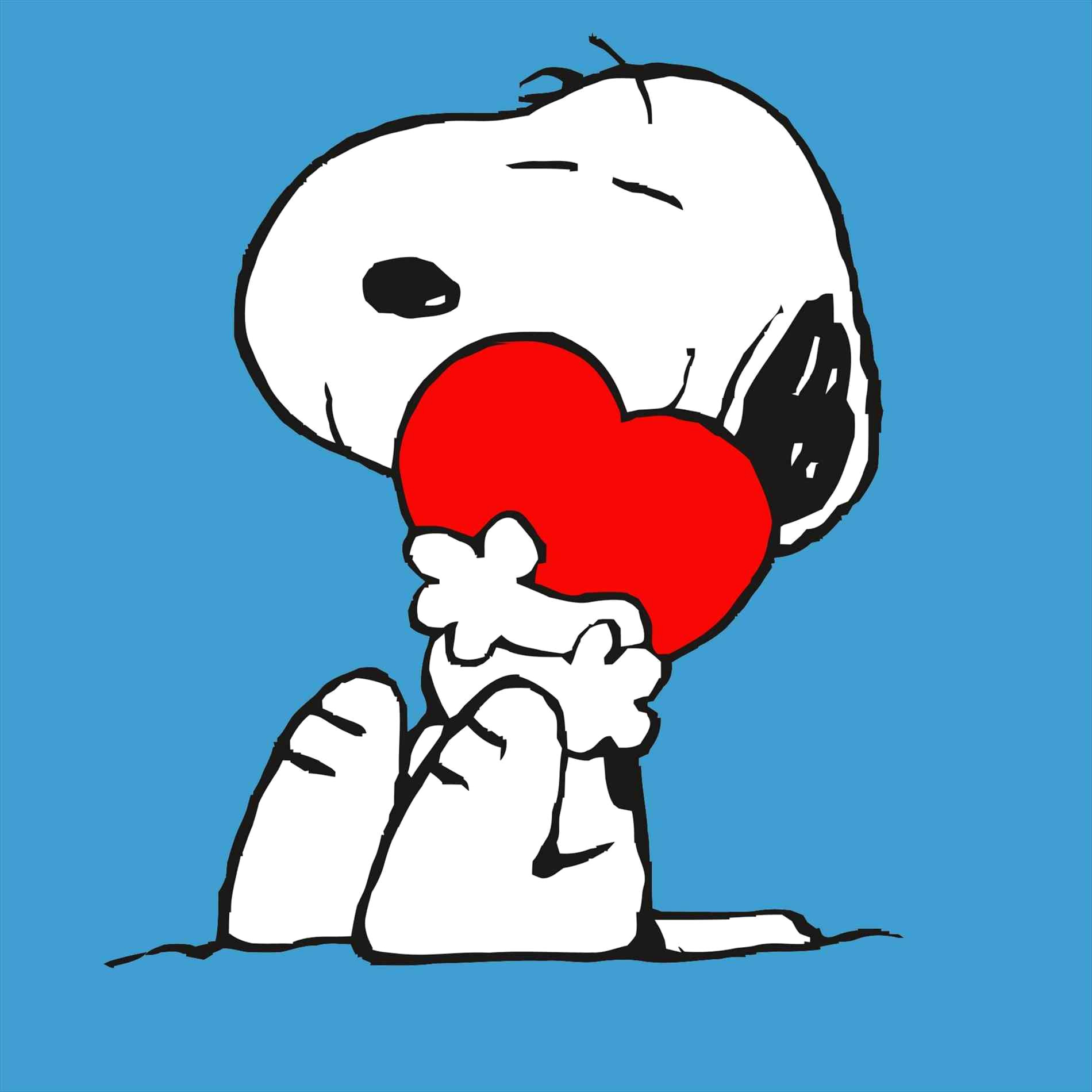 1900x1900 Snoopy How Can You Not Love Him Lovely Valentine Clipart