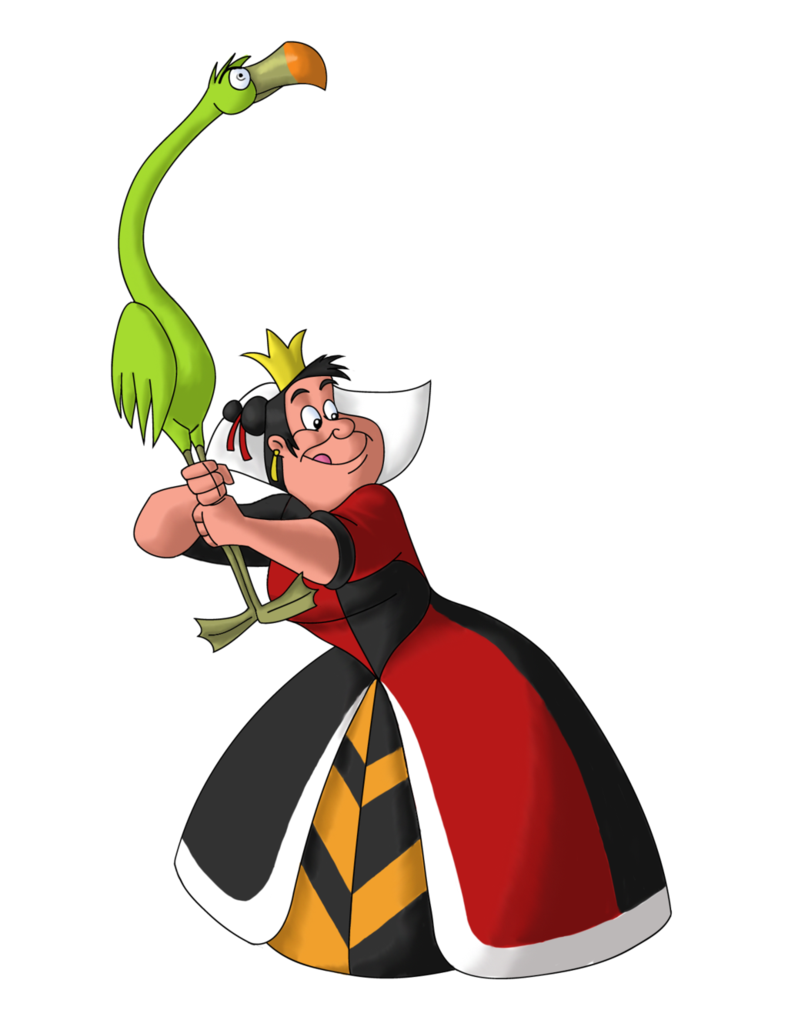 788x1013 Disney Villain October 15 The Queen Of Hearts By Poweroptix