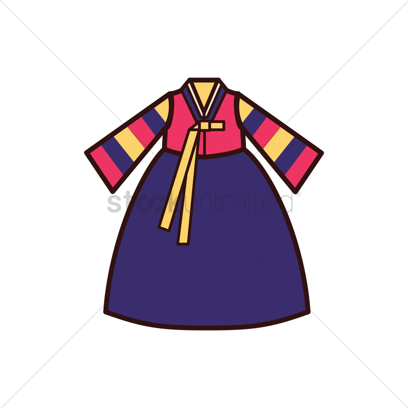 1300x1300 Traditional Costume Clipart Hanbok