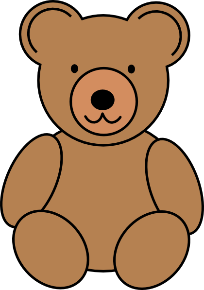 420x597 Teddy Bear Clip Art