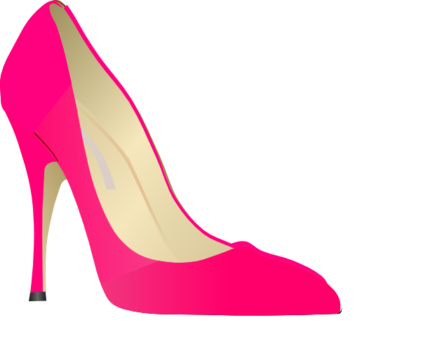 600x484 Pink High Heels Clip Art Clipart Glamourdiva Clipart
