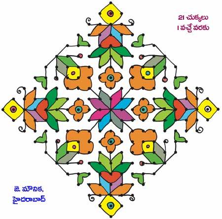 450x445 Rangoli Designs,rangavallikalu,rangavallulu,mehandi Designs