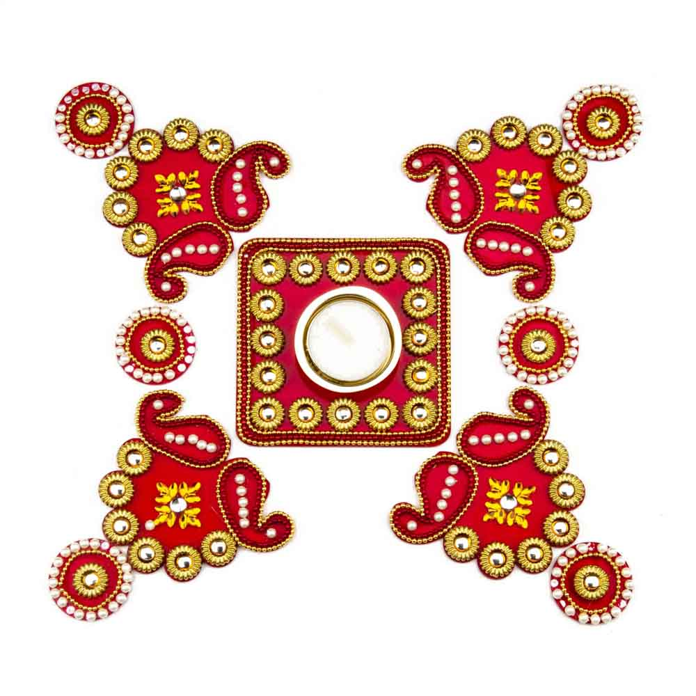 1000x1000 Send Diwali Rangoli Set As Gifts To India