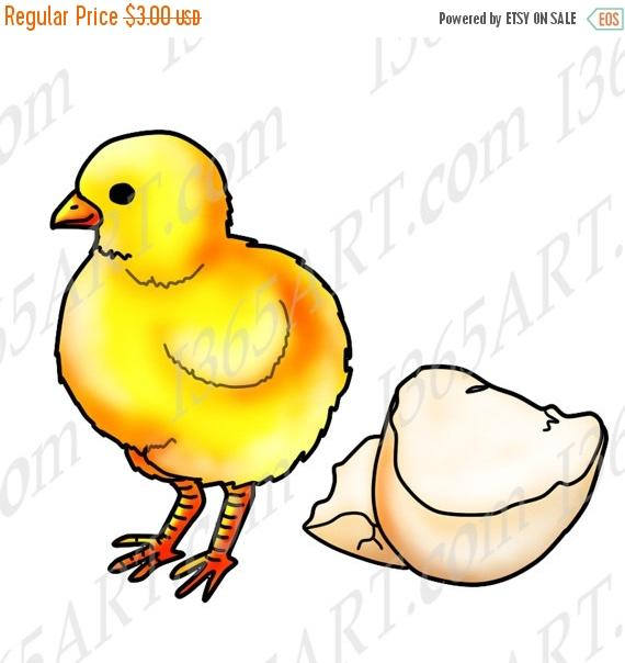 570x604 50% Off Baby Chick Clipart, Chick Clip Art, Scrapbooking