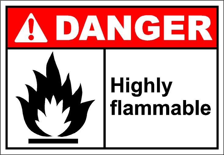 732x505 Flammables Clipart