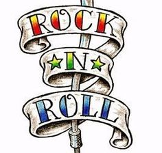 236x224 Tattoo Clip Art Clipart Guitar Flames Rock And Roll