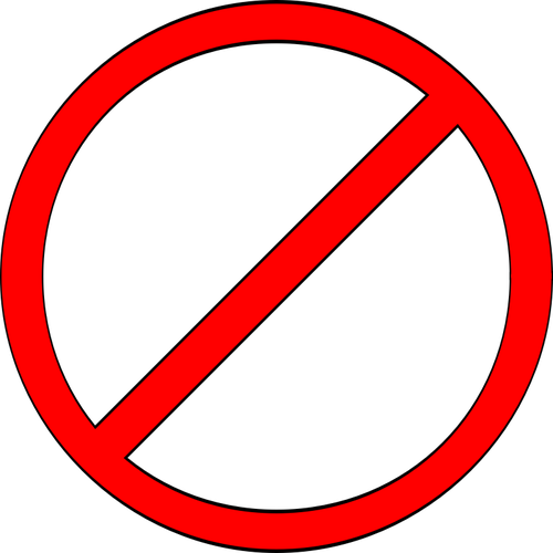 500x500 Vector Clip Art Of Do Not Feed The Trolls Sign With Caption