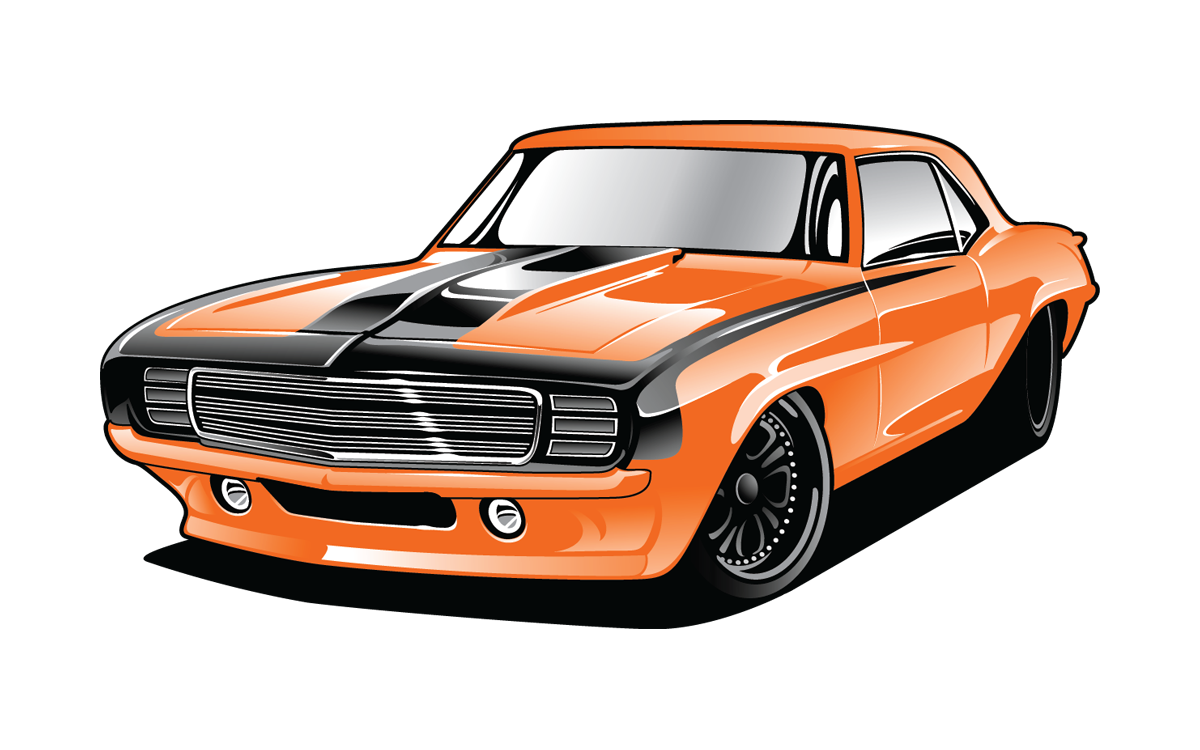 Dodge Charger Clipart