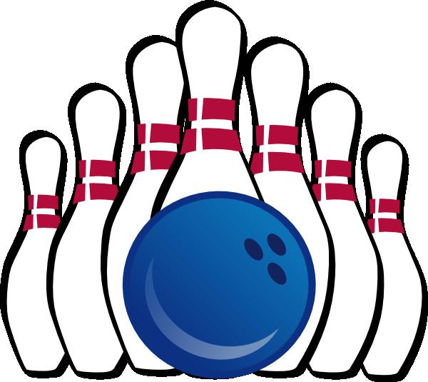 600x535 Bowling Pins Clip Art