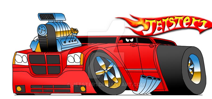 900x423 Dodge Magnum Cartoon By Jetster1