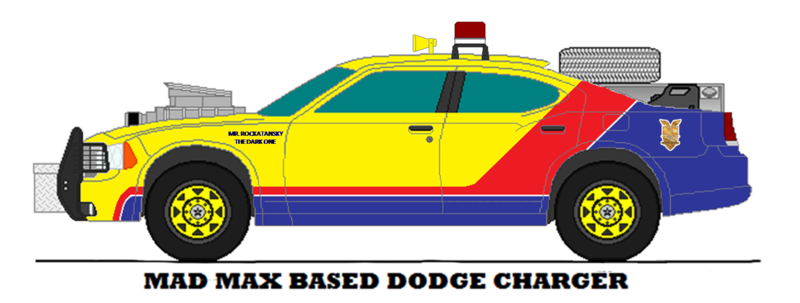 800x303 Mad Max Interceptor Dodge Charger By Medic1543