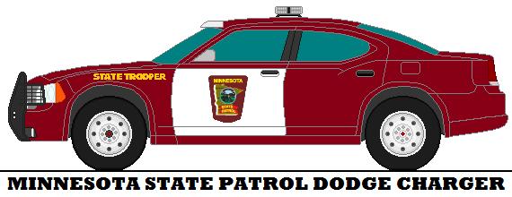 570x220 Minnesota State Patrol Dodge Charger By Mcspyder1
