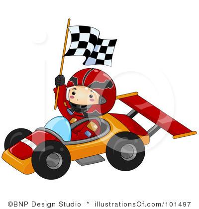 400x420 Race Car Clip Art